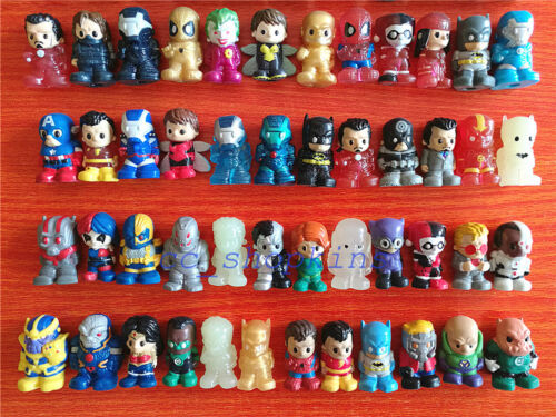 30pcs Random Ooshies Pencil Toppers TMNT//DC Comics//Marval Heroes//WWE Toy Gift
