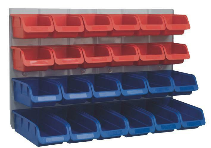 STORAGE BIN SET - 25PC Storage Wall Panel - SET JG77657 91ce99
