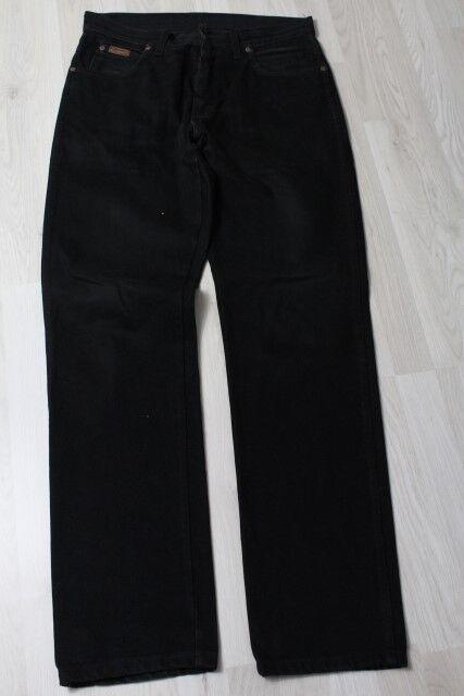 H2540 Wrangler Texas Jeans W34 W34 W34 Schwarz Sehr gut    Sale Outlet  0994c4