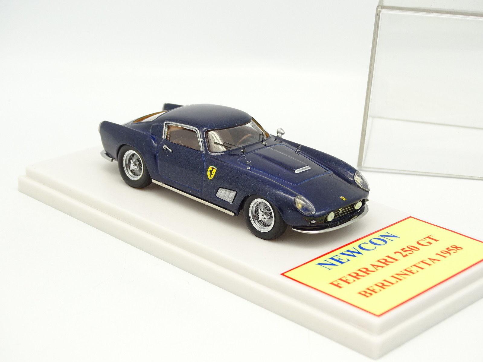 Newcon Kit Monté 1/43 Ferrari 250 250 250 GT Berlinetta 1958 Bleue   Vogue  7a20ae