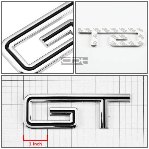 Fit Mustang//Escort Gt Metal Bumper Trunk Grill Emblem Decal Sticker Badge Black