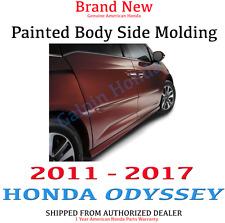 Genuine OEM Honda Odyssey Painted Body Side Molding Kit  2011 - 2017