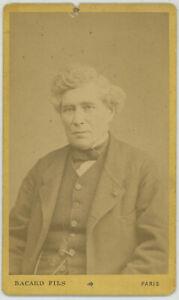 CDV circa 1880. Le médecin Louis Dominique Jules Gavarret par Bacard fils à Pari