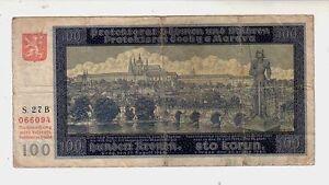 Bohemia-amp-Moravia-100-corone-1940-BB-G-Pick-7-lotto-1009