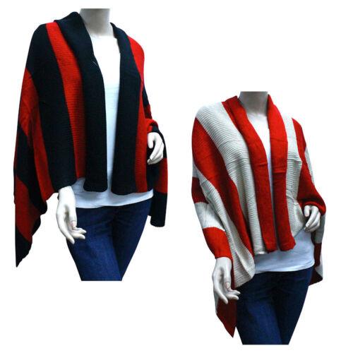 Casaba Womens Warm Winter Blankets Scarves Scarf Wraps Shawls Heavy Wide Stripes