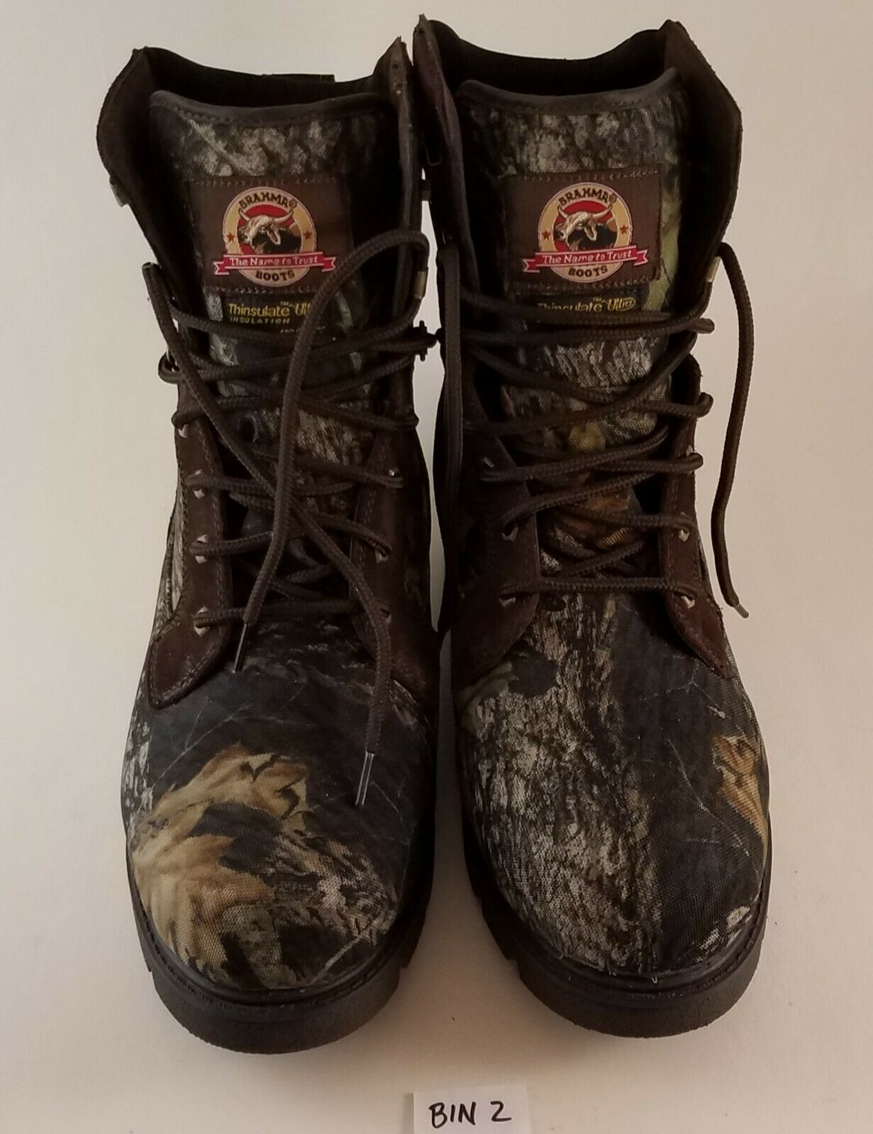 Brahma Hunter 2559454 Camo lace up boot Thinsulate Ultra Men's  size 12  new products novelty items