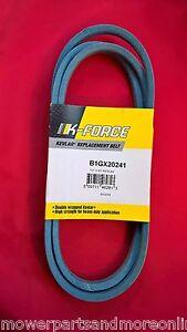John Deere L100 LA105 MANUAL Transmission Belt Made With KEVLAR GX20241 GX22036