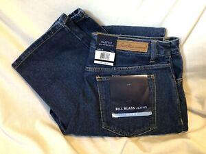 BILL BLASS Easy Fit Blue Denim Jeans Jeanswear Womens Size 14 Tall NEW NWT
