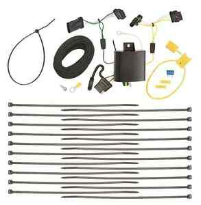 s l300 2015 2017 jeep renegade trailer hitch wiring kit harness plug play