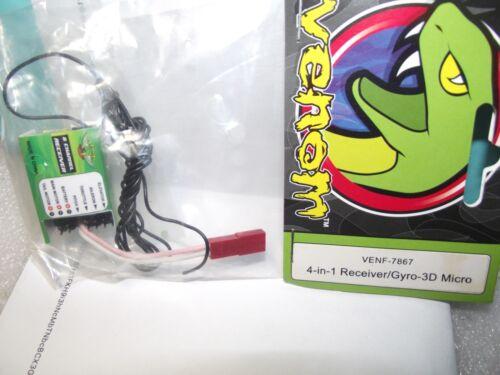 Récepteur Venom 7867 4 en 1 / gyro-3d Micro 873067004614