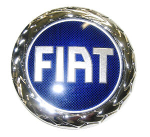 fiat punto mk2 1999 2003 hood bonnet logo badge emblem 46522729 genuine ebay. Black Bedroom Furniture Sets. Home Design Ideas