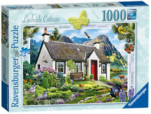 15163-Ravensburger-Jigsaw-Puzzle-Country-Lochside-Cottage-1000-Pieces-Age-12