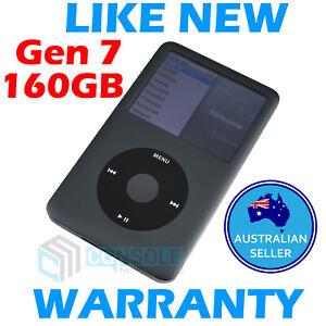 Apple Ipod Classic Mp3 Player 7th Gen 160gb Grey Fully Refurbished Ebay
