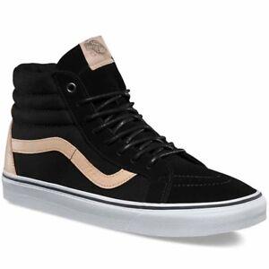 d5ac17d5ad Vans Sk8 Hi Reissue (Veggie Tan) Black Skate Shoes Men s Size 8
