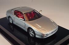 Mattel Hot Wheels 1/43 Ferrari 456GT silbergrau in O-Box #140
