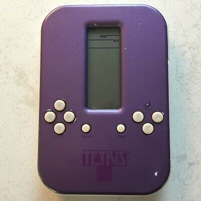 Radica Tetris Handheld Video Game Classic Purple Tested Working Free Shipping Ebay