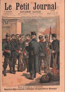 Uniformes-Soldats-Alsaciens-Alsace-Caserne-Duche-de-Luxembourg-1896-ILLUSTRATION