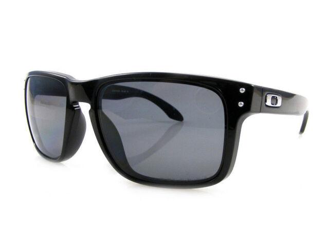 450d4c544c6de Oakley Holbrook Plastic Noir Hommes Lunettes de Soleil 6832 ...