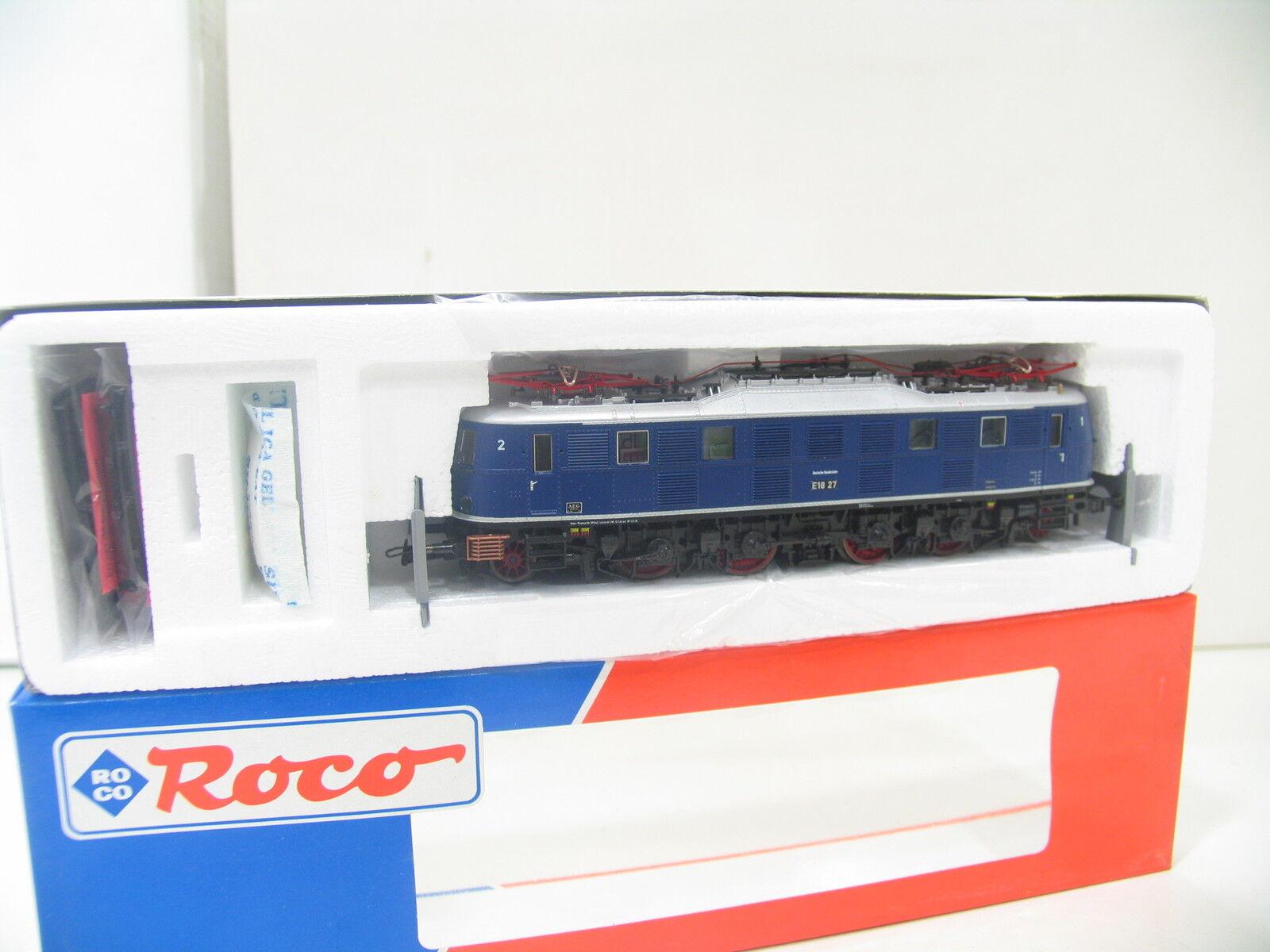 ROCO 43659 E-Lok e18 blu della DB bw1303