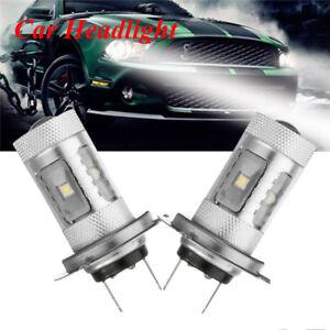 2x-H7-6000K-3535-LED-6-LED-Fog-DRL-Driving-Car-Head-Light-Lamp-Bulb-White-2