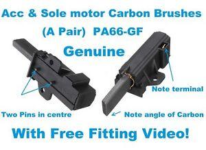Aimable V-zug Genuine Washing Machine Sole & Acc Motor Carbon Brushes Pa66-gf