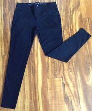 GORGEOUS! Apt 9 Pull-On Skinny Modern BLACK Legging Jeans SMALL L28 SUPER SEXY!