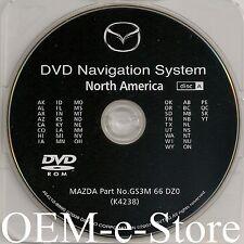 2009 2010 MAZDA Mazda6 CX-9 CX9 RX-8 RX8 Navigation DVD Map WEST U.S Canada