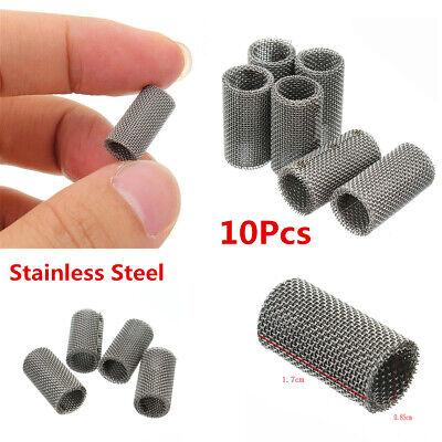 10Pcs Stainless Steel Glow Plug Burner Strainer Filter Net For Truck Car Heater