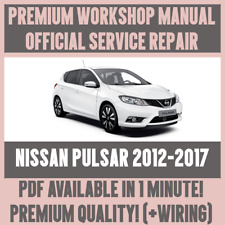 *WORKSHOP MANUAL SERVICE & REPAIR GUIDE for NISSAN PULSAR 2012-2017 +WIRING