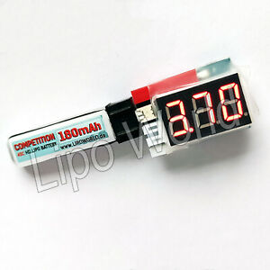 1s-2s-Lipo-Akku-Tester-Volt-Checker-E-Flite-Walkera-3-7V-7-4-MCX-Blade-Modellbau