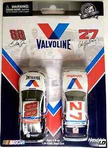 CALE-YARBOROUGH-27-VALVOLINE-1982-BUICK-amp-DALE-JR-RETRO-VALVOLINE-2-PACK-1-64