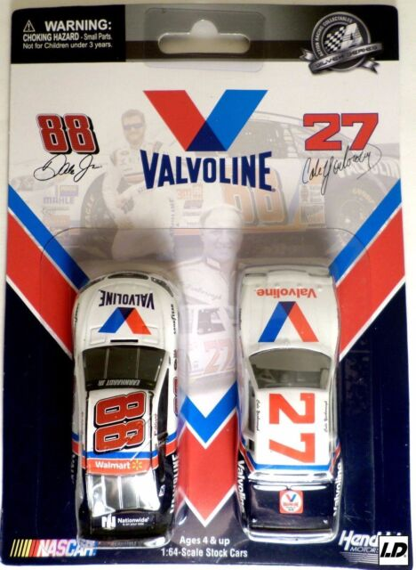 CALE YARBOROUGH #27 VALVOLINE 1982 BUICK & DALE JR RETRO VALVOLINE 2 PACK 1/64