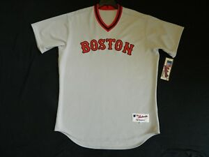 445df7587 Image is loading Authentic-Boston-Red-Sox-TBC-1975-Throwback-Jersey-