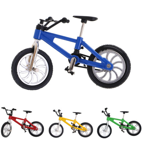 Finger Mountain Bike Bicycle Miniature Metal Toys for Boy Collectible Gift