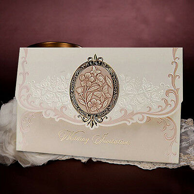 1 Sample Set Elegan Butterfly Wedding Invitations Card + Envelope /CL5032