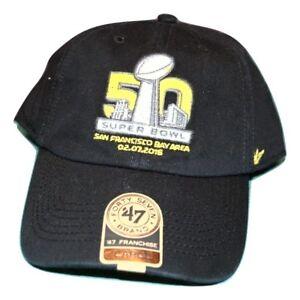 999287429a780 47 Brand Mens NFL Super Bowl 50 Stretch Fit Cap Hat New M