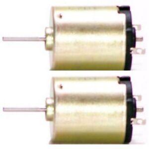 2er-Pack-12V-Mini-Motor-Minimotor-Kleinmotor-Elektromotor-Modellbau-Gleichstrom