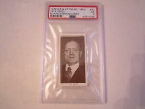1938-JACK-SMITH-43-WA-amp-AC-CHURCHMAN-BOXING-CARD-PSA-GRADED-PSA-5-BN-20
