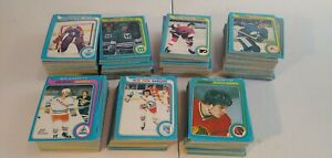 HUGE-1979-O-Pee-Chee-Hockey-Card-Lot-No-Gretzky-Good-Condition-Great-Set-Build