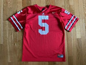 Details about Nike Youth Sz Boys L Ohio State Football Jersey #5 Braxton Miller NCAA Stitched