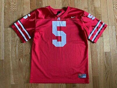 Braxton Miller #5 Ohio State Buckeyes Football Jersey - White