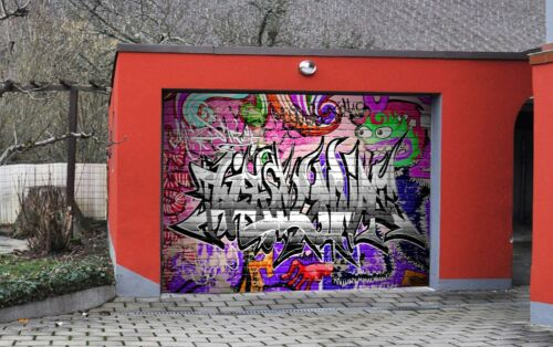 3D Graffiti 862 Garage Door Murals Wall Print Decal Wall AJ WALLPAPER AU Carly