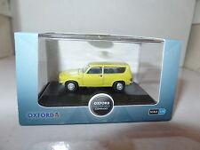 Oxford 76ALL001 ALL001 1/76  OO Scale BLMC Austin Allegro Estate Citron Yellow S