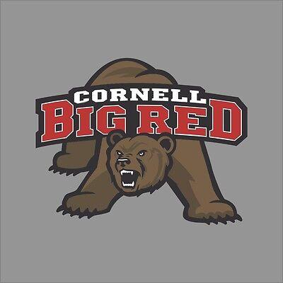 Cornell Big Red #2 College Logo 1C Vinyl Decal Sticker Car Window Wall
