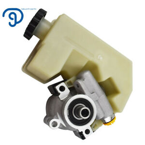 New-For-02-06-Jeep-Liberty-2-4L-3-7L-V6-SOHC-Power-Steering-Pump-With-Reservoir