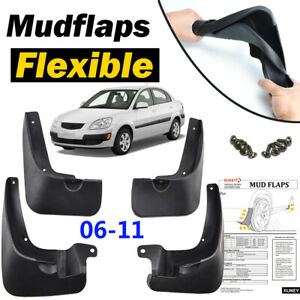Set-Splash-Guard-Mud-Flaps-Parts-Fit-For-KIA-RIO-2006-2011-Front-Rear-4PCS
