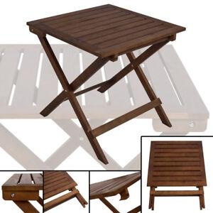 F9 Klapptisch Holz Klappbar Eckig Kiefer Balkontisch Gartentisch