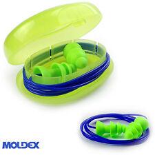 Moldex Reusable Ear Plugs - Moldex 1 pair Comets corded  Earplug + travel case