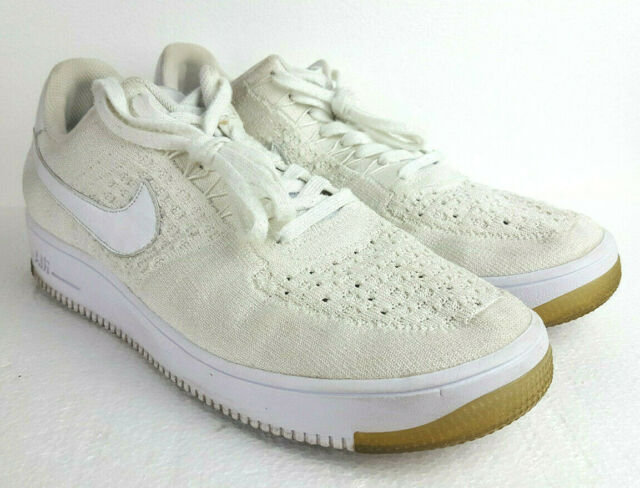 Size 12 - Nike Air Force 1 Ultra Flyknit Low White Ice 2016 for ...