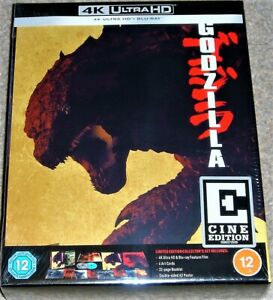 GODZILLA  4K ULTRA HD CINE EDITION BOX SET / NEW AND SEALED / WORLDWIDE SHIPPING